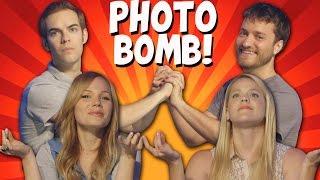 photobomb 1 jacksfilms lisbug brock baker michelle glavan