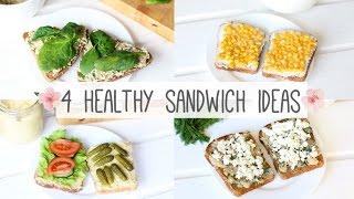 4 варианта сендвичей | Полезный сендвич + КОНКУРС