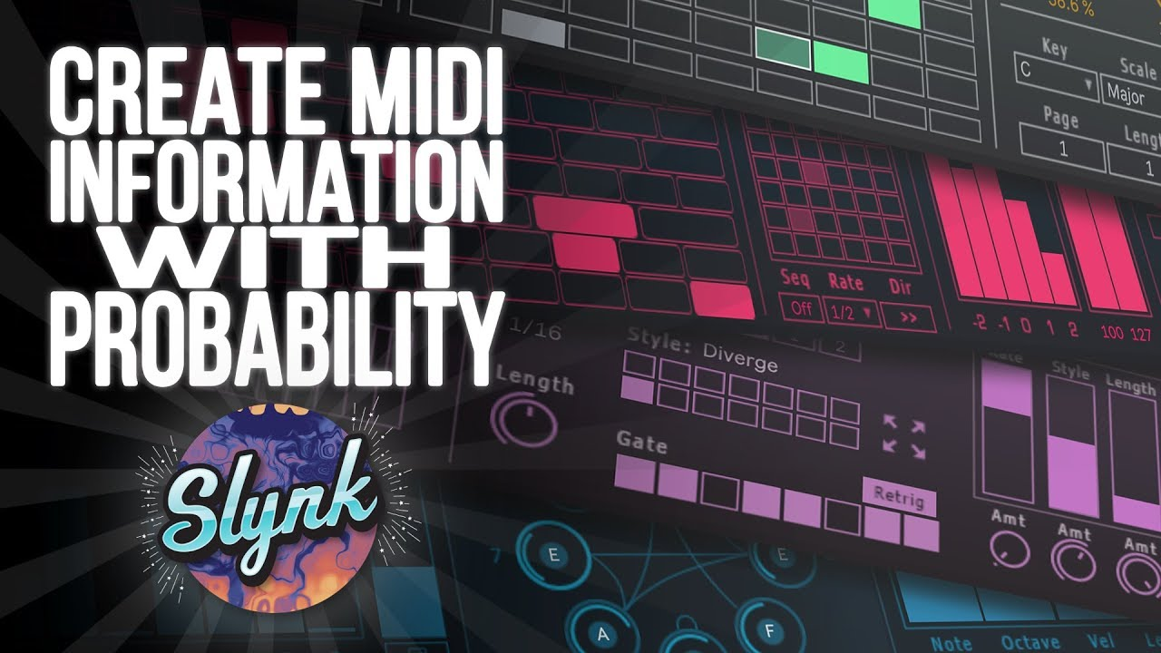 Ableton Tutorial: Create Midi Information With Probability (Max For Live,  Sonic Faction)
