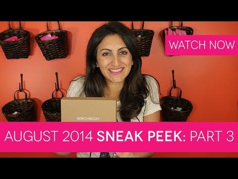 Birchbox August 2014: Sneak Peek Part 3