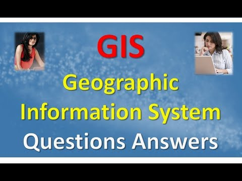 GIS Geographic Information System Questions Answers