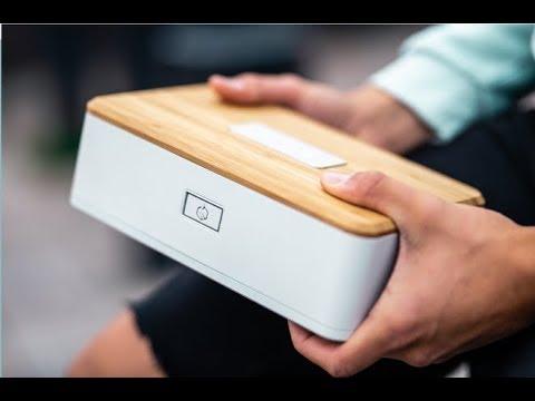 Heatbox - Portable Self Heating Lunch Box