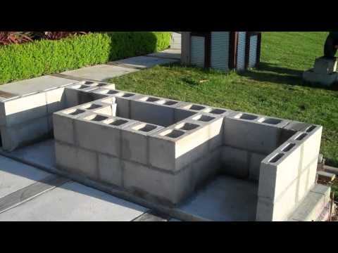 Building My Outdoor Fireplace By C L