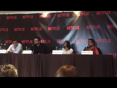 Narcos Cast at Netflix Latin American Press Conference 2 thumbnail