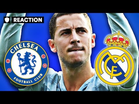 LATEST HAZARD COMMENTS SUGGEST 'DREAM MOVE' TO MADRID COULD HAPPEN | TRANSFER REACTION