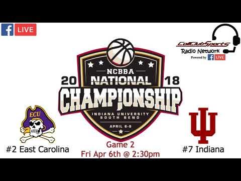 2018 NCBBA Nattys Game 2 :: Indiana v East Carolina