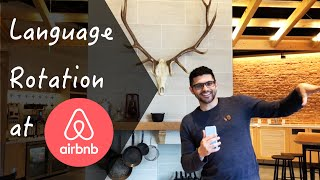 Gambar cover Language Rotation at the AirBNB Office
