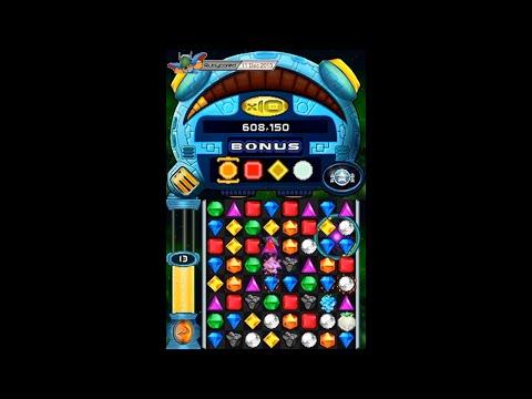 Bejeweled Twist (2010, Nintendo DS) - Classic Mode (Take 1)[720p60]