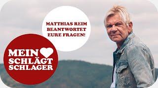 Matthias Reim beantwortet eure Fragen!