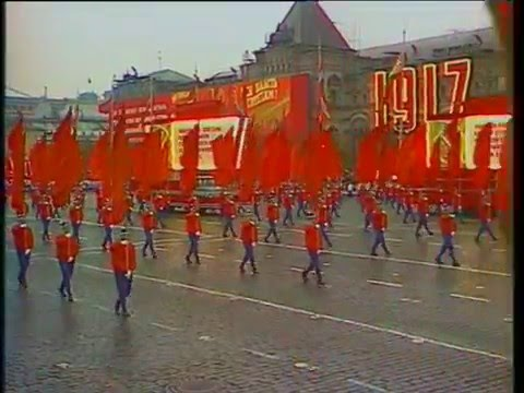 Soviet October Revolution Parade, 1976 Part II Парад 7 Ноября