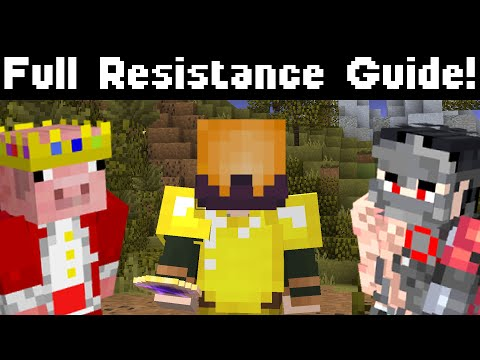 The Resistance Is Here! (Hypixel Skyblock) Technoblade Perks! Full Guide!