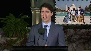 Reporter Asks Trudeau If This Trip Is Just For Photo Opportunities