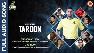 Taroon - Zeek Afridi - Peshawar Zalmi Song - PSL 2016