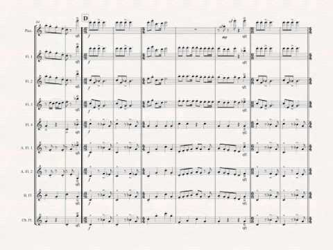 JINGLE BELLS for Flute Choir by Valerie Coleman