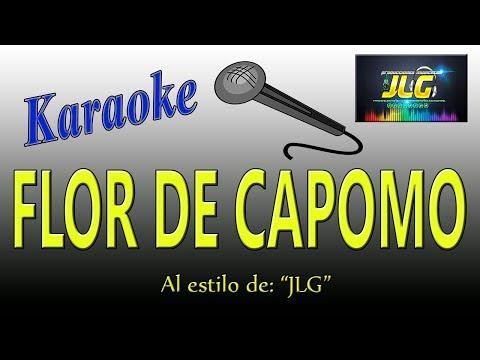 FLOR DE CAPOMO  -karaoke Como Tierra Caliente- Arreglo po JLG
