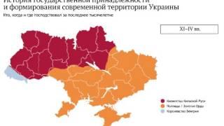История Украины с 15 века,до 1991 года.