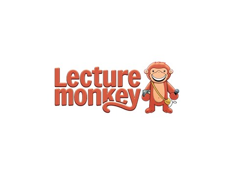 LectureMonkey - automated lecture notes and recording promo