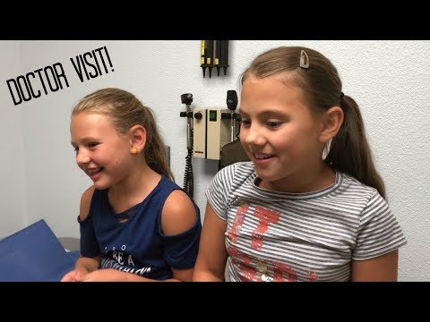 BACK TO SCHOOL DOCTOR APPOINTMENTS WITH 5 KIDS! FAMILY VLOG