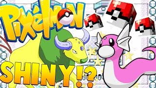 overpowered shiny pokemon battle lucky block mod   minecraft pixelmon adventure 12