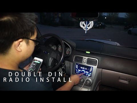 04 Forester Radio Install - YouTube on