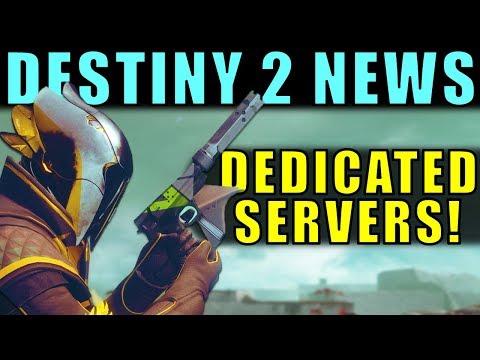 Destiny 2 Has Dedicated Servers?! Kind Of   HUGE Destiny 2 News!
