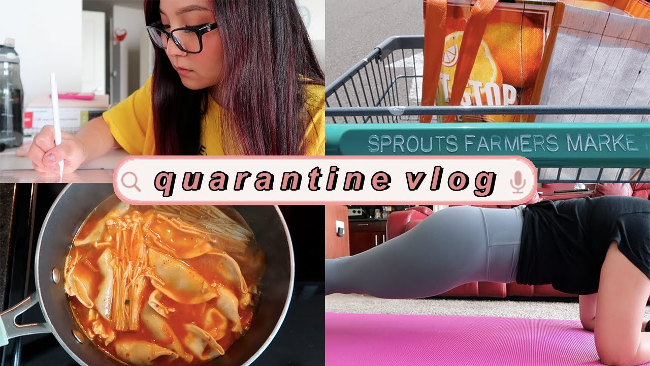 day in my life vlog: working out, grocery shopping, cooking