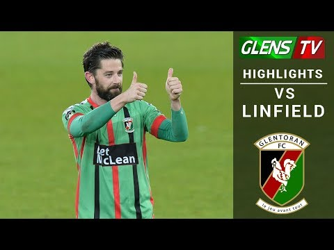 Linfield vs Glentoran - Europa League Play-off Semi-final 10th May 2018