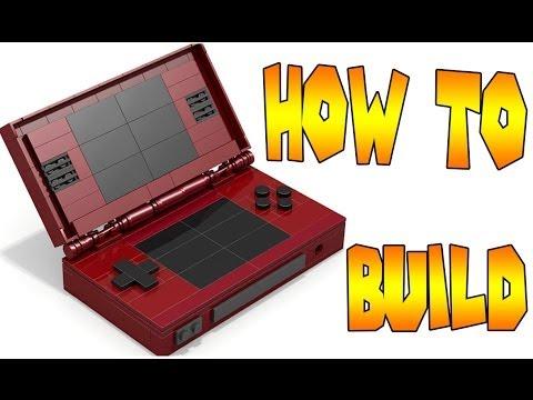How to Build LEGO Nintendo DS