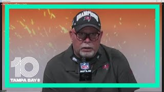 Tampa Bay Buccaneers head coach Bruce Arians: 'I ain't going anywhere' after win