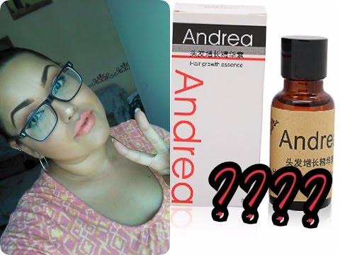 Esencia para crecimiento de cabello.. Funciona?????(Gotas ANDREA) | Cindyiitha Makeup❤