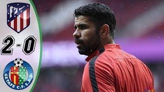 Atletico Madrid vs Getafe 2-0 Resumen y Goles La Liga Santander 2018 HD