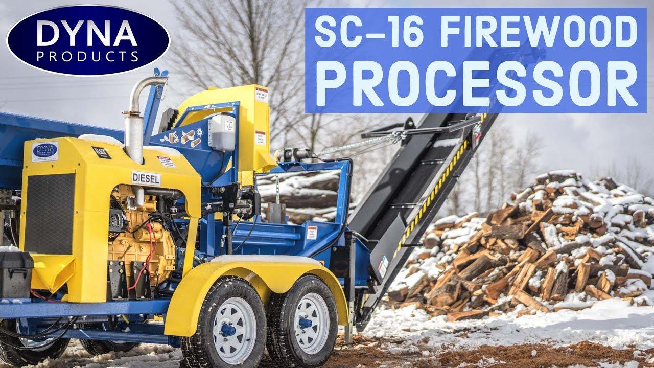 DYNA Products SC-16 Firewood Processor