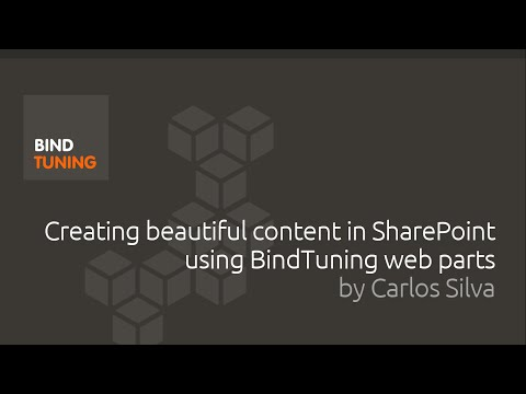 Web Parts, Apps and Tiles: Creating beautiful content in SharePoint