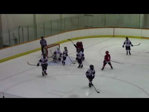 2017-2018 PEEWEE A1 Surrey vs A1 NSW Club - League Game - Jan 09, 2018 1-4L 1st Period