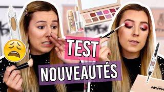 CRASH TEST NOUVEAUTÉS ?ET UN ÉNORME FLOP ?(Martine Cosmetics, Benefit, KVD...)