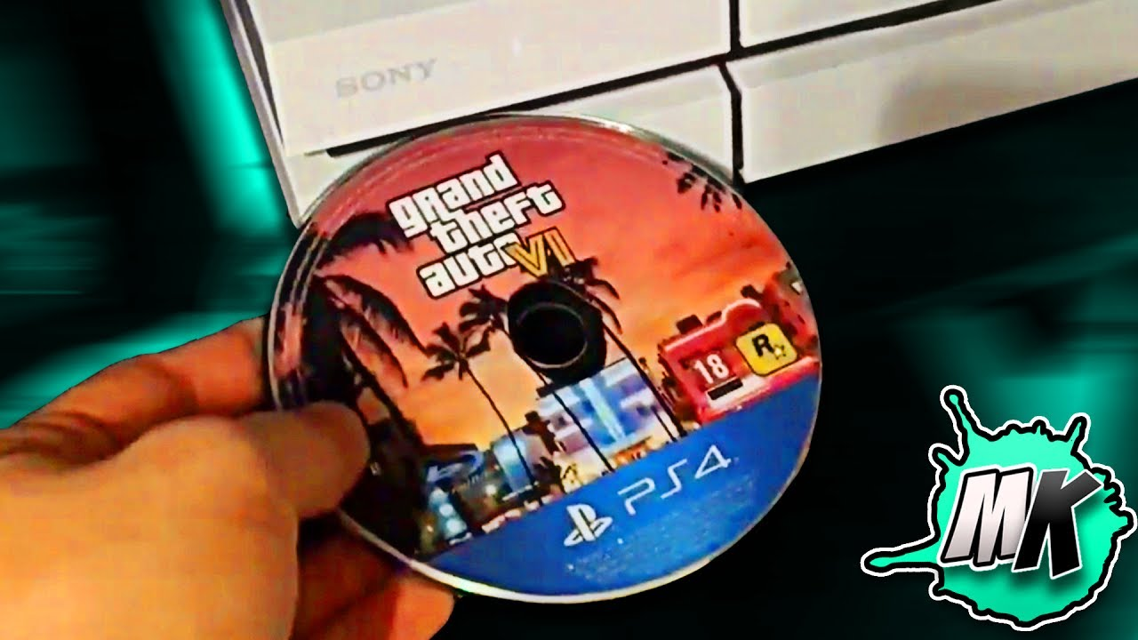 WHAT HAPPENS WHEN YOU PUT GTA 6 IN THE PS4?
