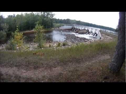 Underwater view of tippy dam manistee river reedsburg for Manistee river fishing report tippy dam