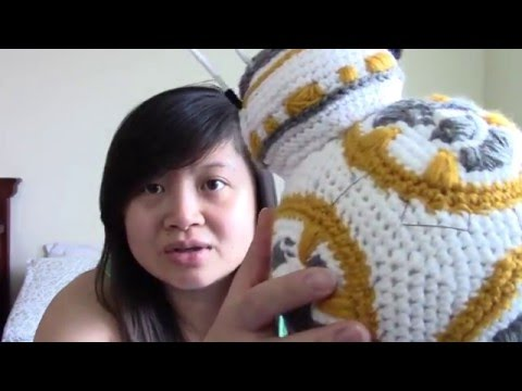 Crochet your own BB8 [Video tutorial!]