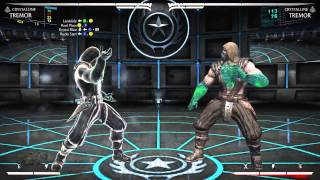 Mortal Kombat X - Тремор Кристаллический Комбо Урок (Tremor Crystalline)