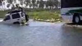 4x4 ahogado en chichiriviche- Edo.Falcón. Venezuela