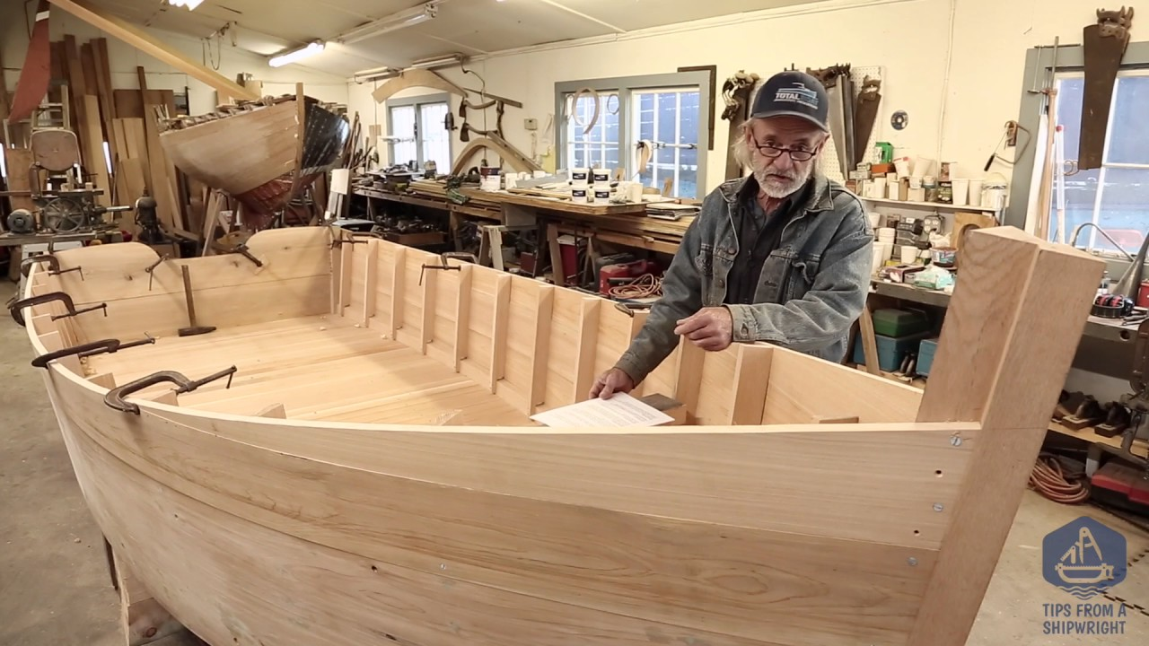 Building the TotalBoat work skiff - Q&A with shipwright Louis Sauzedde - YouTube