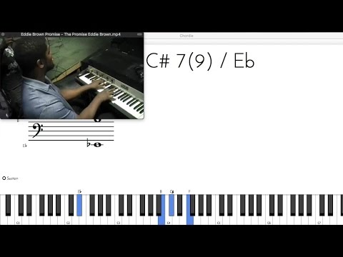 Eddie Brown plays the Promise |  Studying vocabulary, chords, and melody