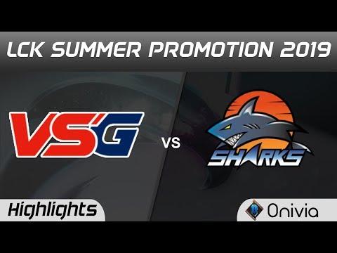 VSG vs ESS Highlights Game 1 LCK Summer 2019 Promotion Vesus Game vs ES Sharks LCK Highlights by Oni
