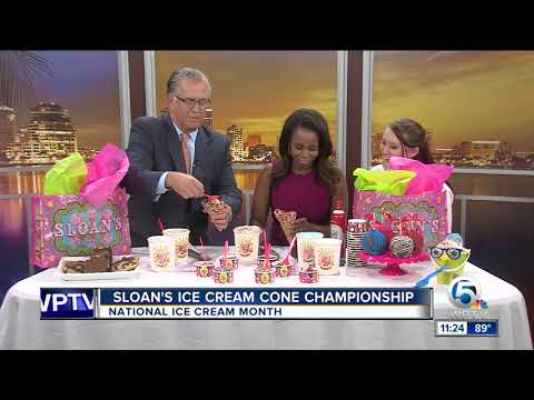 National Ice Cream Month with Sloan