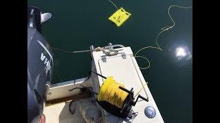 Essai du GLADIUS (drone sous-marin qui plonge à 100m de fond)