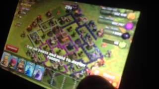 Clash of clans gameplay with Isaac And Aidan!