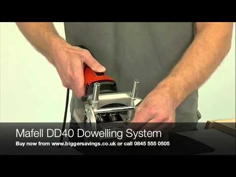 Mafell DDF40-LA Battiscopa stretti per DuoD/übler DDF 40