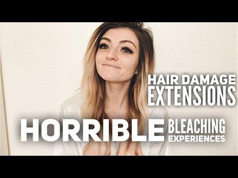 My Horrible Hair   Bleach Damage, Clip/tape In Extensions, Hair Products