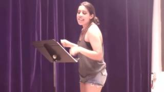 Overdone Musical Theatre Medley by Kelly Thomas feat. Alexandra Nader