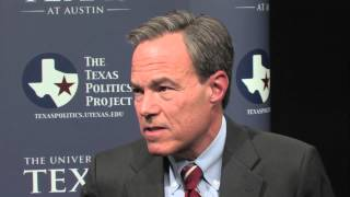 Speaker Straus of the Texas House Discusses Relations Among the Big Three